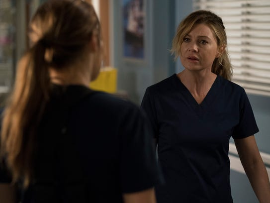 """""""Grey's Anatomy"""" star Ellen Pompeo appears in the """"Station"""