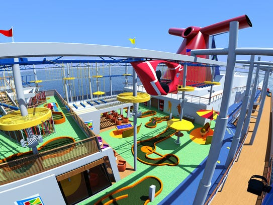 Carnival Vista is a hit with kids