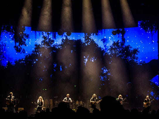 The Eagles perform in Wells Fargo Arena on Monday,