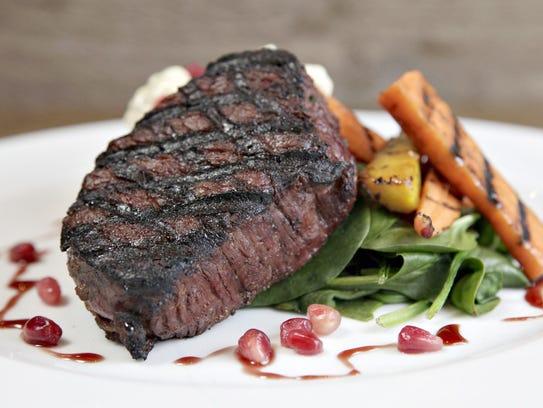 A steak at Rusconi's American Kitchen.