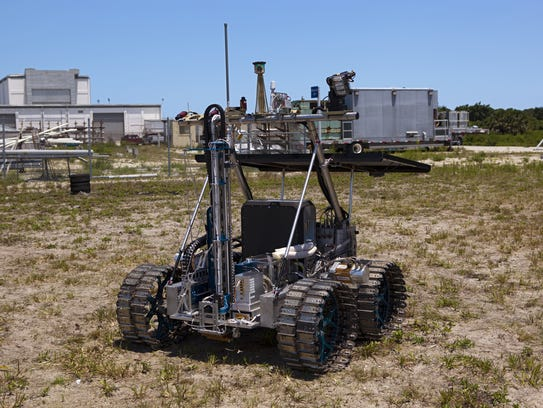 The main tool in NASA's RESOLVE mission was a drill