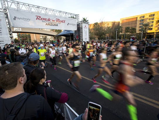 The U.S. has more than 500,000 marathon finishers annually.