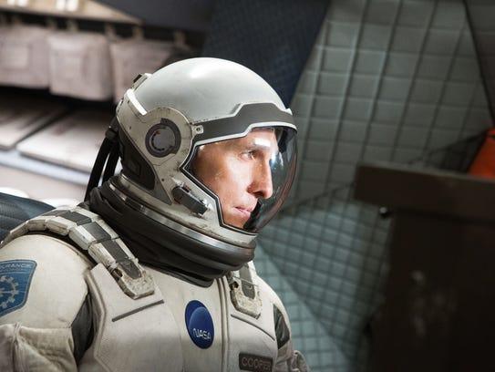 """Interstellar,' starring Matthew McConaughey, gets"