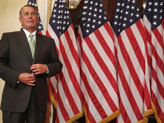 Rep. John Boehner, R-Ohio, got the approval from fellow