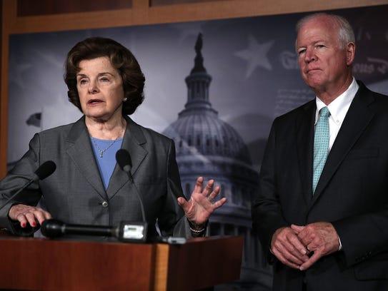 Senate Intelligence Chairwoman Dianne Feinstein, D-Calif.,