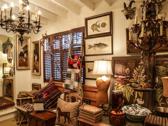 Surroundings home decor and antique shop  located on. Hidden pocket of 54th Street keeps popping