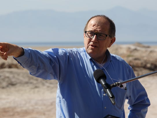Bruce Wilcox, the assistant secretary for Salton Sea