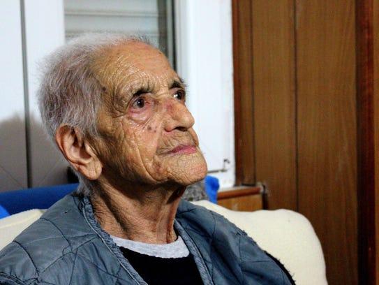 Caterina Moi, 97, recalls memories of her husband,