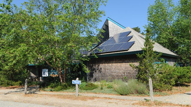 The visitor center at Mass Audubon's Wellfleet Bay Wildlife Sanctuary is closed, though trails are open Tuesday through Sunday, according to its website. A third of the sanctuary's full-time staff has been laid off because of revenue losses suffered by the Massachusetts Audubon Society.