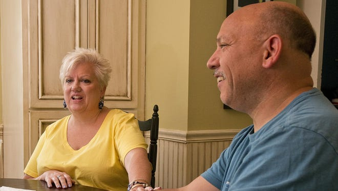 Terri Saenz and husband Jeff leave June 7 for one of many visits they will make this year to the Mayo Clinic in Minnesota.