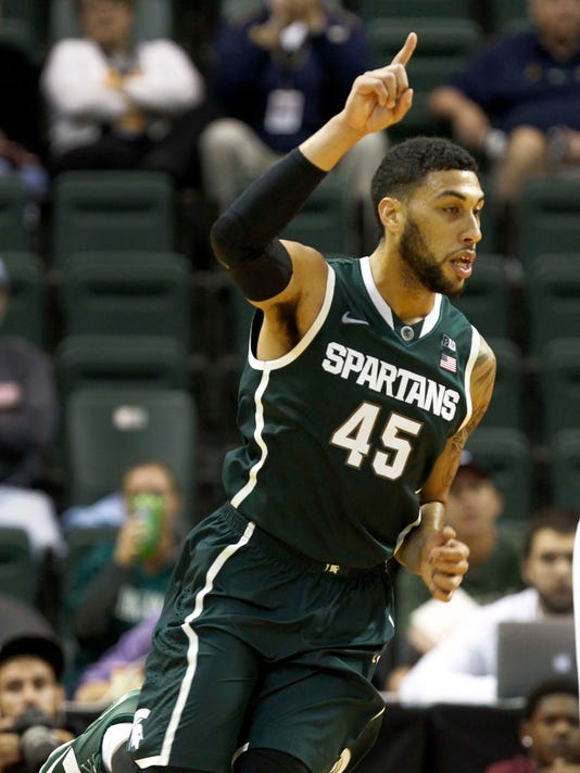 NCAA Basketball: Orlando Classic-Michigan State vs Rider