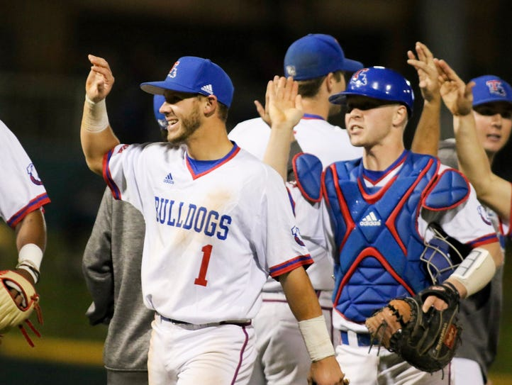Louisiana Tech senior shortstop Dalton Skelton (1)