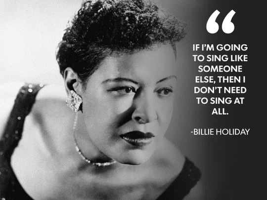 Image result for billie holiday