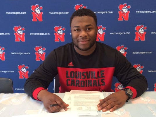 Chris Williams JUCO signing day