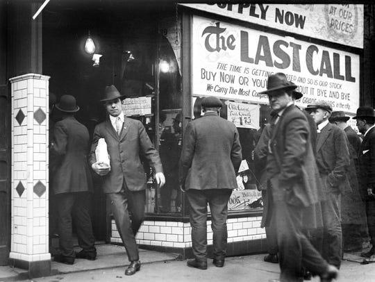 """Spirited: Prohibition in America"" opens in the Branigan"