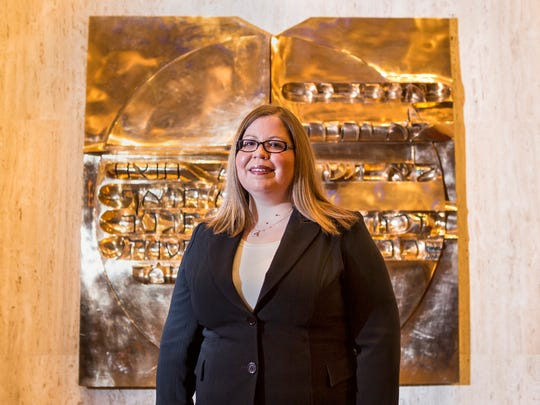 Cantor Elisa Abrams Casuto has been working at the Congregation Beth Shalom in downtown Wilmington since 2012.
