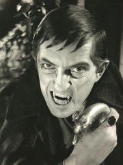 """Jonathan Frid portrays tormented vampire Barnabas Collins in """"Dark Shadows,"""" which aired on ABC from 1966-'71."""