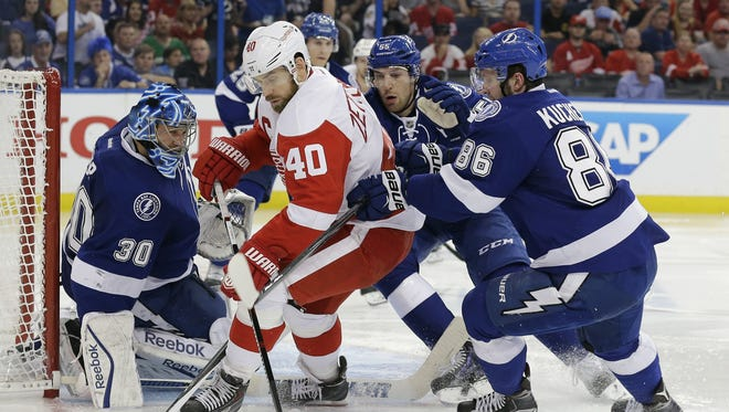 The pressure will be on Henrik Zetterberg and the Detroit Red Wings to not fall behind in their playoff series with the Tampa Bay Lightning on their home ice. The Red Wings are 0-3 in their last three playoff games at Joe Louis Arena.