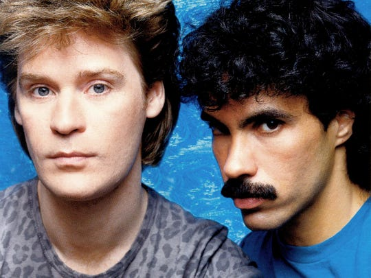 A vintage shot of Hall and Oates.