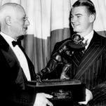 Listen: Nile Kinnick's legendary 1939 Heisman Trophy speech