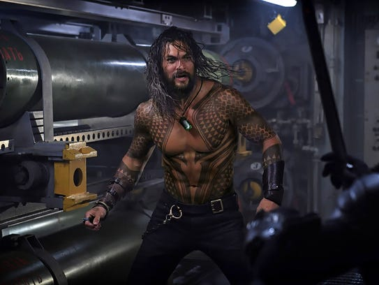 'Aquaman' marks the first solo film for Jason Momoa's