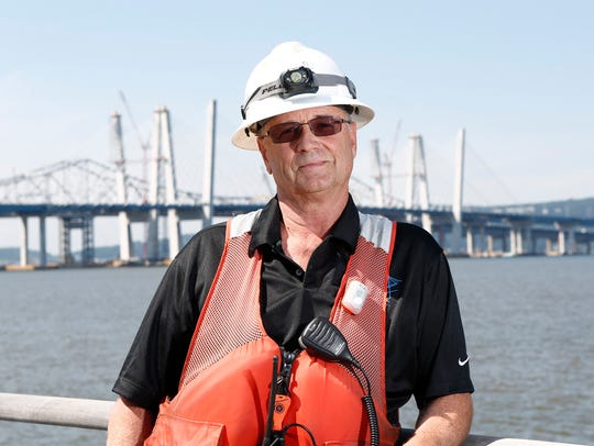 Jim Hammond, boat fleet manager photographed on the