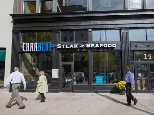 Charblue, a steak and seafood place in downtown Indianapolis, Tuesday, November 1, 2016. The venture is partly owned by former Colts linebacker Gary Brackett.