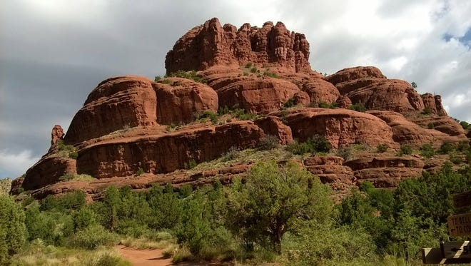 Can you feel it? The vortex energy at Bell Rock in Sedona?
