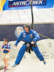 Clarksville teacher Amy O'Neill participated in the Honeywell Educators at Space Academy at the US Space and Rocket Center in Huntsville, Alabama.