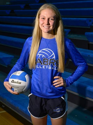 Sartell senior setter Ailsa Watson is the Times Media Prep Athlete of the Week. She helped lead the Sabres to the North Branch Invitational championship. She was photographed Sept. 20 at Sartell High School.