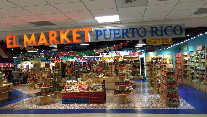 Puerto Rico market, San Juan