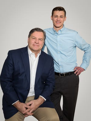 Steve Scaffidi (left) and Erik Bilstad are co-hosts of a new talk show on WTMJ-AM (620), airing from noon to 3 p.m.