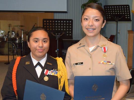 Jeanette Hernandez and Maria Mata-Gomez