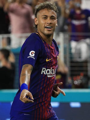 FC Barcelona said in a statement that Neymar is leaving the team.