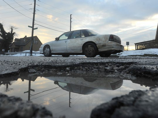 IndyStar stock pothole stock potholes