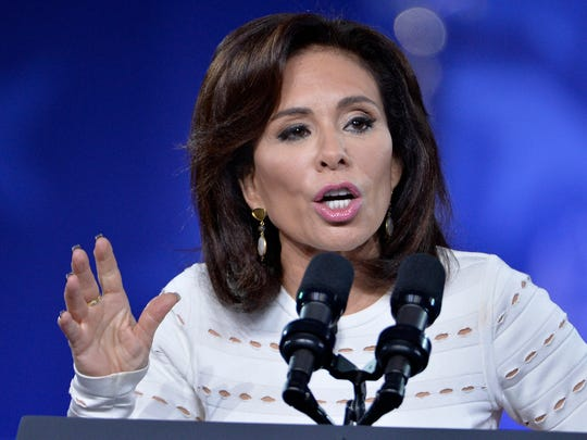 Judge Jeanine Pirro of FOX News Network makes remarks to the Conservative Political Action Conference (CPAC) at National Harbor, Maryland, February 23, 2017. Politicians, pundits, journalists and celebrities gather for the annual conservative event to hear speakers, network and plan agendas for the new President Trump administration.