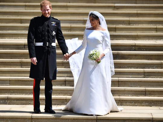 Prince Harry, Duke of Sussex and his wife Meghan, Duchess