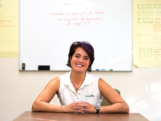 Dawn Chavez is the executive director of Asheville GreenWorks, an organization focused on engaging the community to take action towards preserving the environment around us.