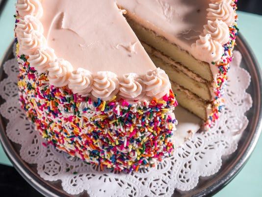 BUTTER & SCOTCH birthday cake