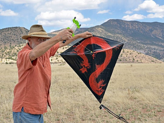 The Whitewater Mesa Fun Kite Flying Picnic returns on Saturday at 355 Bursum Road in Glenwood. The event began in 2005.