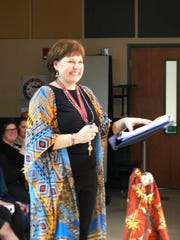 Music teacher Sharon Tacot was proud of her students'