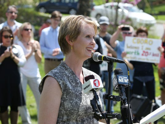 Cynthia Nixon in New Paltz