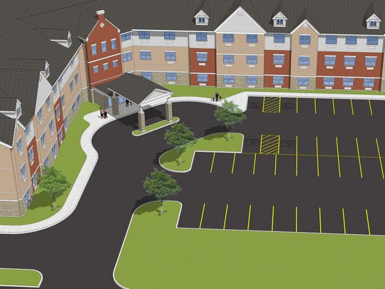 Glasswater Creek, an affordable senior living facility, is planned to open in 2018 on Beck Lane just north of the Pay Less Super Market.