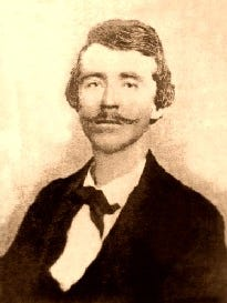 William Quantrill, the best and most recognizable leader among the Missouri guerrillas.