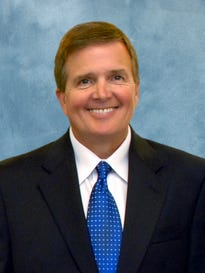 Rick Matthews, Northrop Grumman vice president for Florida operations and Melbourne site manager.
