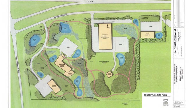 The Prestwick Group is proposing a corporate campus near Highway C and I-94 in Delafield, which would include an approximately 50,000-square-foot light manufacturing/assembly plant, a similar-sized corporate headquarters and a corporate gathering center.
