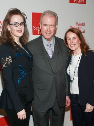 Rebekah Mercer, Robert Mercer and Diana Mercer attend the 2014 World Science Festival Gala at Jazz at Lincoln Center on April 7, 2014, in New York City.