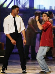"""In the Heights"" creator Lin-Manuel Miranda (right)"