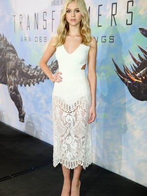 BERLIN, GERMANY - JUNE 30:  Actress Nicola Peltz attends the Transformers: Age of Extinction press conference (german title: Transformers - Aera des Untergangs) at Ritz Hotel on June 30, 2014 in Berlin, Germany.  (Photo by Andreas Rentz/Getty Images for Paramount Pictures) ORG XMIT: 499903483 ORIG FILE ID: 451504250