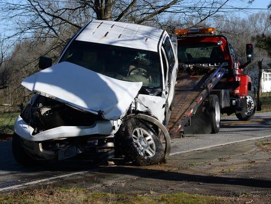 Craytonville cattle truck wreck